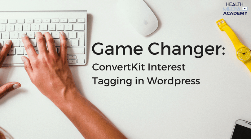 ConvertKit Interest Tagging in WordPress
